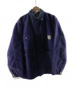 CarHartt(カーハート)の古着「ダックジャケット」|ネイビー