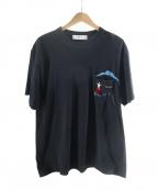 TOGA VIRILIS()の古着「ポケットTシャツ」|ブラック