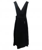 B:MING by BEAMS()の古着「ジャンパースカート」 ブラック