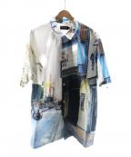 X-LARGE(エクストララージ)の古着「転写プリントシャツ」|ブルー