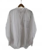 LAD MUSICIAN()の古着「BROAD CLOTH BIG SHIRT ABNORMAL」 ホワイト