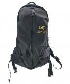 ARCTERYX()の古着「アロー22バックパック」 ブラック