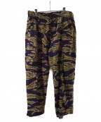 South2 West8(サウスツーウエストエイト)の古着「ARMY STRING PANT - FLANNEL PT」|ネイビー