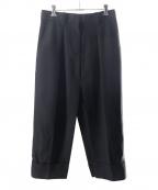 Acne studios(アクネストゥディオス)の古着「Wスリットデザインスカート」|ブラック