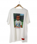 HERON PRESTON(ヘロンプレストン)の古着「once upon a time tee」|ホワイト