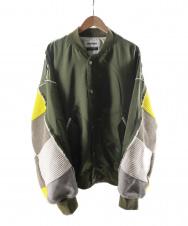 DISCOVERED (ディスカバード) Limonta Nylon Knit Sleeve MA-1 カーキ サイズ:3 21SS