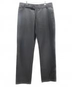 DIOR HOMME()の古着「バックルデザインパンツ」|ブラック