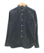 COMME des GARCONS HOMME DEUX()の古着「ステッチドシャツ」|ブラック