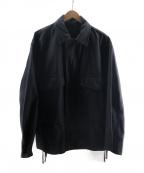BEAMS(ビームス)の古着「ルーズショートM-65ジャケット」 ブラック