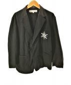 ()の古着「アナと雪の女王テーラードジャケット」 ブラック