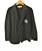 COMME des GARCONS(コムデギャルソン)の古着「アナと雪の女王テーラードジャケット」|ブラック