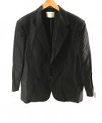 beautiful people(ビューティフルピープル)の古着「belgian linen zoot jacket」 ブラック