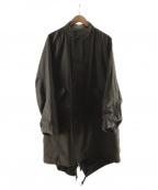 nestrobe confect(ネストローブ コンフェクト)の古着「フィッシュテールコート」 オリーブ