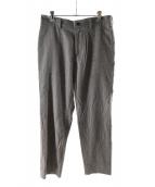 ()の古着「HERRINGBONE NARROW PANTS」|グレー