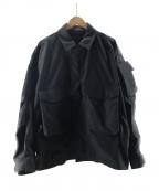 DAIWA PIER39(ダイワ ピアサーティンナイン)の古着「MIL FIELD JACKET」 ブラック