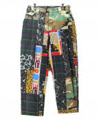 X-LARGE(エクストララージ)の古着「PATCHWORK PANTS」|カーキ