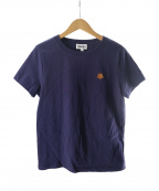 KENZO(ケンゾー)の古着「ワンポイントTシャツ」|ネイビー