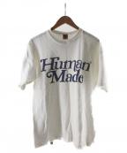 HUMAN MADE(ヒューマンメイド)の古着「コラボTEE」|ホワイト