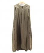 styling/(スタイリング)の古着「ボリュームコクーンドレス」|カーキ