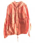 SIERRA DESIGNS(シエラデザインズ)の古着「別注SST-ジャケット」 オレンジ