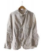 ()の古着「リネンのSTジャケット」|グレー