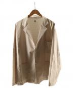 DESCENTE PAUSE(デサントポーズ)の古着「スキーマテックジャケット」 ベージュ