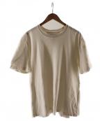 BOTTEGA VENETA()の古着「bassic cotton t-shirts」|オフホワイト