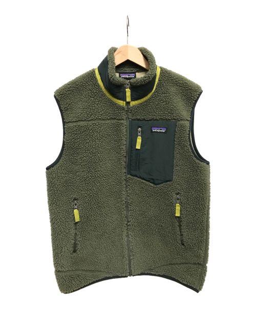 Patagonia(パタゴニア)Patagonia (パタゴニア) クラシックレトロXベスト カーキ サイズ:Mの古着・服飾アイテム