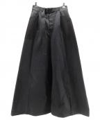 PAMEO POSE(パメオポーズ)の古着「Super Wide Trousers」|ブラック