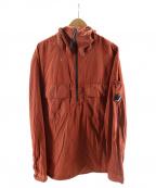 C.P COMPANY(シーピーカンパニー)の古着「ナイロンメタルプルオーバージャケット」|ブラウン