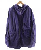 C.P COMPANY(シーピーカンパニー)の古着「ナイロンメタルフーデッドジャケット」|ネイビー