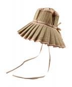 ()の古着「Capri Hat」 ベージュ