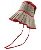()の古着「Milan Avalon Hat」 レッド
