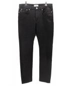 ()の古着「5ポケットスキニーパンツ」 ブラック