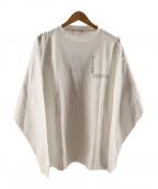 flagstuff(フラグスタフ)の古着「プリントカットソー」|ホワイト