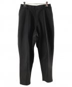 adidas×HYKE(アディダス×ハイク)の古着「テーパードトラックパンツ」|ブラック