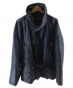 EMPORIO ARMANI(エンポリオアルマーニ)の古着「ナイロンジャケット」 ネイビー