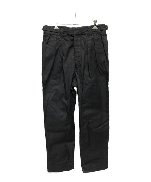 A vontade(アボンタージ)A vontade (アボンタージ) Gurkha Trousers ブラック サイズ:Sの古着・服飾アイテム