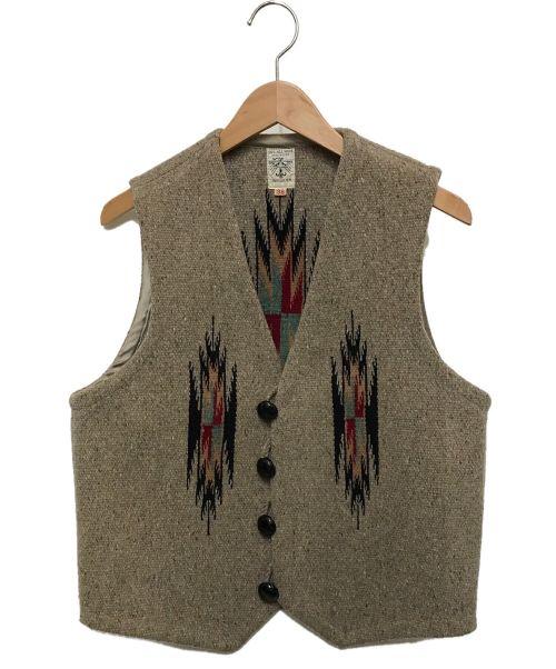 ORTEGA's(オルテガ)ORTEGA's (オルテガ) チマヨベスト グレー サイズ:38の古着・服飾アイテム