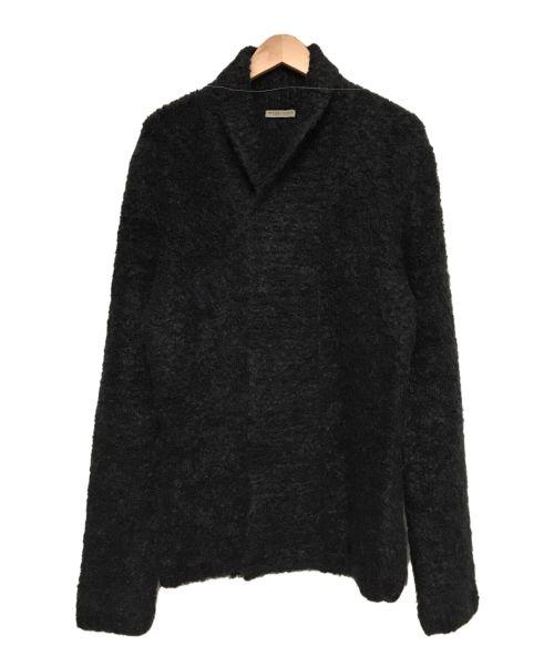 BOTTEGA VENETA(ボッテガベネタ)BOTTEGA VENETA (ボッテガベネタ) アルパカモヘヤニットカーディガン ブラック サイズ:48の古着・服飾アイテム