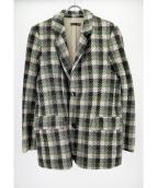 FRANK LEDER(フランクリーダー)の古着「2Bジャケット」|グリーン
