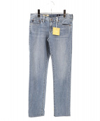 AG(エージー)の古着「スキニーデニムパンツ」|ブルー