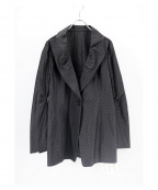 HIROKO KOSHINO(ヒロコ コシノ)の古着「デザインジャケット」|ブラック