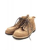 holders(ホルダーズ)の古着「ショートブーツ」|ベージュ