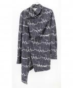 vivienne westwood MAN(ヴィヴィアン ウエストウッド マン)の古着「総柄デザインロングシャツ」