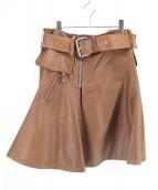 Jean Paul GAULTIER(ジャンポールゴルチエ)の古着「レザージップスカート」