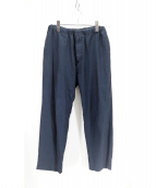 AURALEE(オーラリー)の古着「FINX SILK CHAMBRAY EASY PANTS」