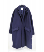 CLANE HOMME(クラネ オム)の古着「OVER SIZE CHESTER COAT」