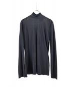 Jean Paul GAULTIER(ジャンポールゴルチェ)の古着「ハイネックブラウス」|ブラック