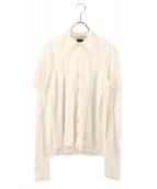 Jean Paul GAULTIER(ジャンポールゴルチェ)の古着「切替カーディガン」|ホワイト
